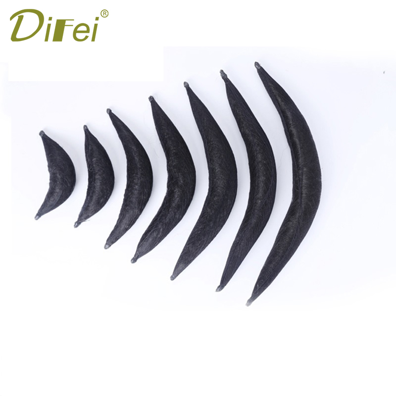 DIFEI Chignons For Women Hairpieces Synthetic Hair In Hair Extensions Heat Resistant Chignons Ancient Costume Dawn Horns ...
