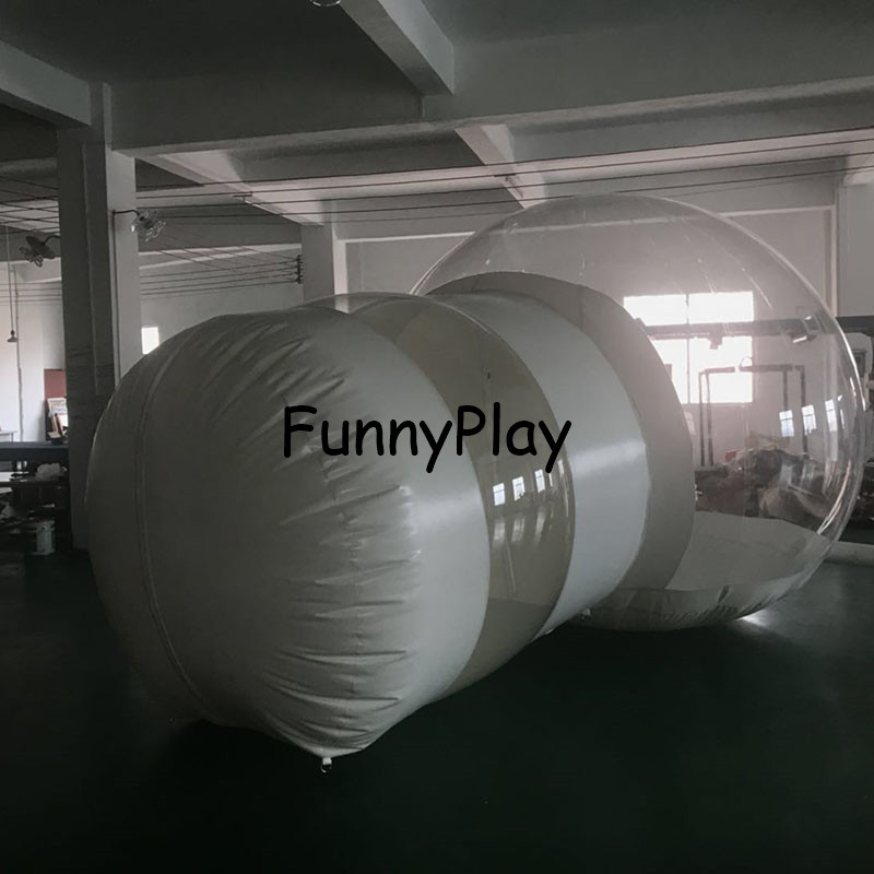 Watch scenery Transparent inflatable lawn bubble tent,bubble camping equipment inflatable beach tent,Inflatable wedding Tent