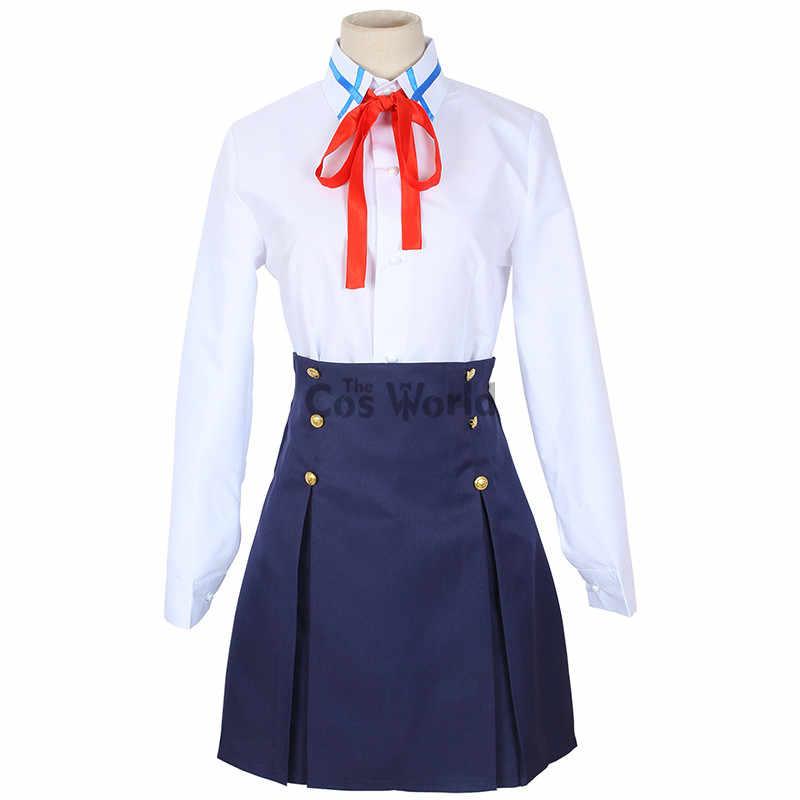 剣アートオンライン SAO 結城アスナ制服コートシャツスカートアニメ衣装コスプレ衣装
