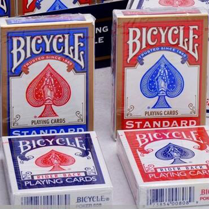 4e934c53351 Free shipping Original Bicycle only one pc price Red or Blue Magic tricks Playing  Cards Rider Back 808 or Standard Sealed Decks ~ Free Shipping July 2019