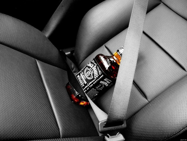 Jack Daniels Safety Belt Car Auto Art Huge Print Poster TXHOME D2491