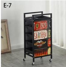 Hair stroller hair salon tool car barbershop beauty cart dyeing hot stroller roughing and reinforcing.