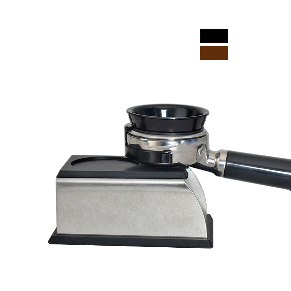 Stainless Steel Silicone Espresso Coffee Tamper Stand Barista Tool Tamping Holder Rack Shelf Coffee Machine ToolStainless Steel Silicone Espresso Coffee Tamper Stand Barista Tool Tamping Holder Rack Shelf Coffee Machine Tool