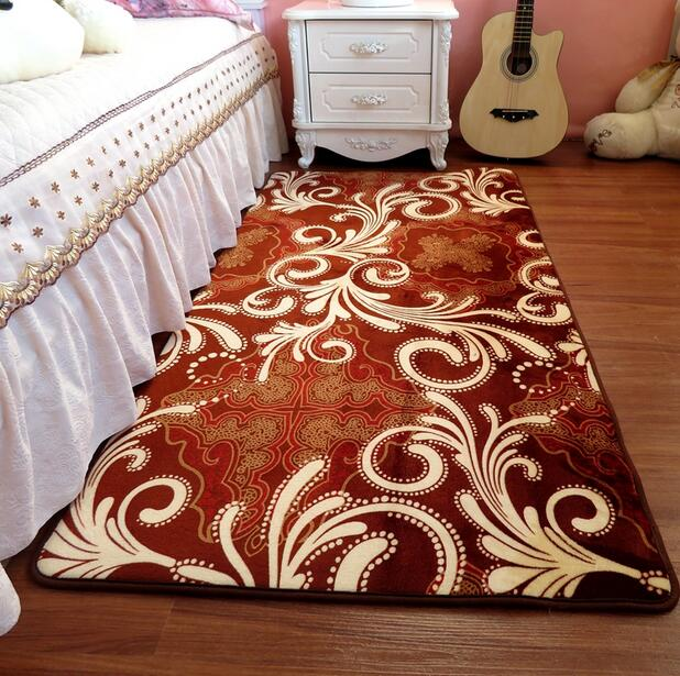 NEW Soft Anti-skid thickening Coral Fleece Carpet for Living Dining Bedroom home decor floor mat 160*50 200*40 200*50 200*60cm