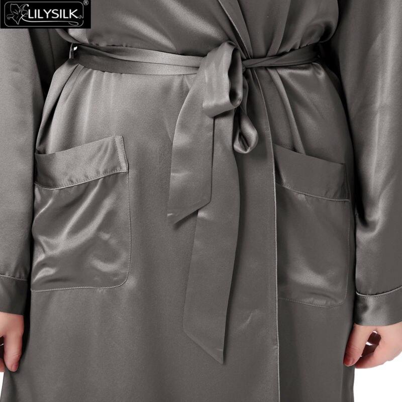 1000-dark-gray-22-momme-mid-length-silk-robe-plus-size-03