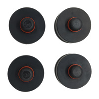 Jack Lift Point Pad Adapter Set Of 4 Fits Tesla Model 3 Protects Battery Paint Side Skirts Use 4 For A 4 Point Vehicle Lift