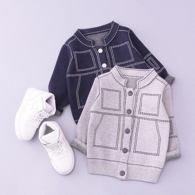 Дети свитер детские малышей младенческой мальчик кардиган детская зимняя кардиганы куртки пальто для enfant мальчики шерстяные свитера верхняя одежда мальчик