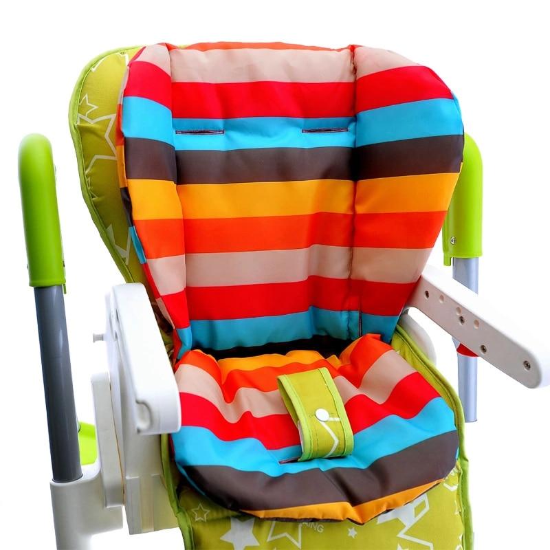 Baby Seat Cushion 2 PCS Keranjang Keranjang Multipurpose Baby Cart Striped Mat Carting Cushion Baby Car Seat General Mat Waterproof Cotton