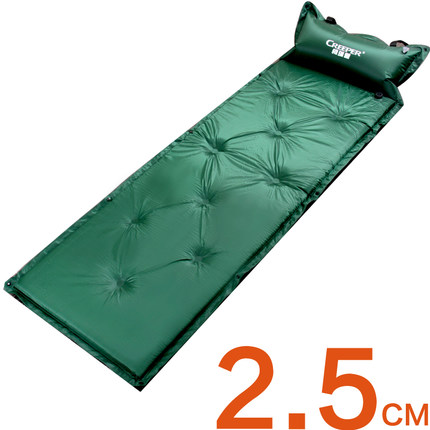 Outdoor Camping Mat, Waterproof Outdoor Sand Mat for men and women , 183*57cm Sand Mat 2.5cm thick sleeping pad
