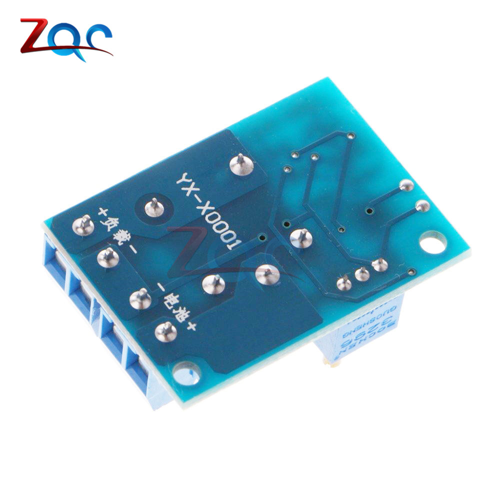 US $2 23 10% OFF|DC 12V Battery Switch Module Charging Control Module  Undervoltage Management Controller Cut off Load Switch Protection Module-in