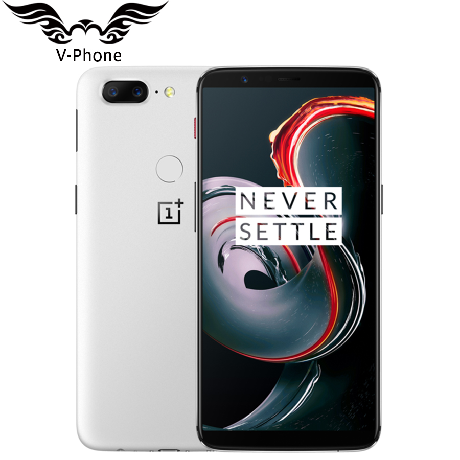 "Global ROM Original Oneplus 5T Mobile Phone 8GB 128GB Snapdragon 835 Octa Core 6.01"" Full Screen Dual Rear Camera Fingerprint"