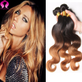 Ombre Body Wave Hair 3 Bundle Indian Human Hair Body Wave Indian Ombre Hair Extensions Honey Blonde Hair Meches Bresilienne Lots