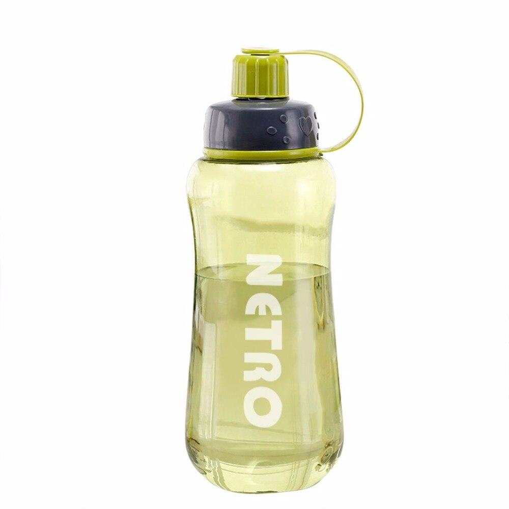1000 мл Портативный Пластик бутылки воды Открытый Отдых Пеший Туризм Чай сок нетоксичные с фильтром Совет спортивные бутылки чайник посуда
