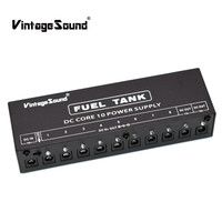 Guitar Effect Pedals Power Supply 10 Isolated Outputs For 9V 12V 18V Guitar Effect Pedal Board