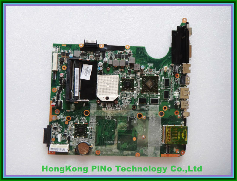 574680-001 laptop motherboard for HP DV7 AMD/DDR2 with ati graphics system board 100% tested 45 days warranty for hp cq62 g62 610161 001 laptop motherboard for amd cpu with ati hd5430 ddr3 integrated graphics card
