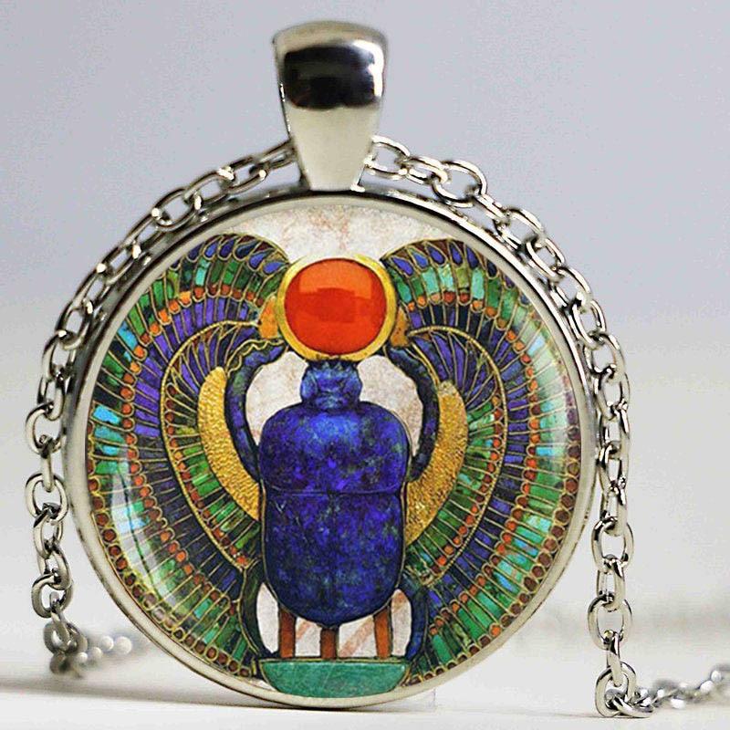 scarabée egyptien bijoux