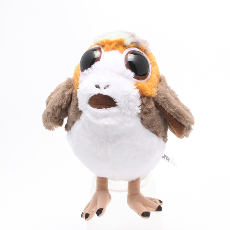 STAR WARS The Last Jedi Porg Electronic Plush Doll Disney Soft Stuffed Kids Toy