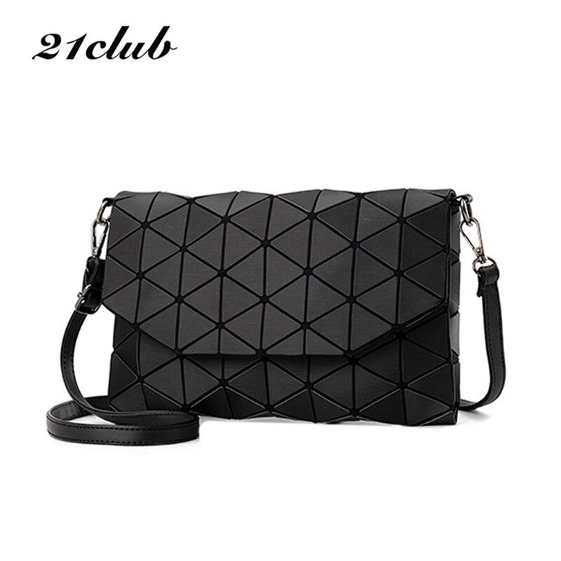 2017 nuovo piccolo plaid solido geometrico lingge borsa della busta delle donne di hotsale delle signore della frizione della borsa di crossbody sacchetti di spalla del messaggero