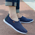 Couple casual shoes 2016 summer new breathable flat shoes, outdoor leisure shoes mesh