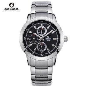 Image 1 - CASIMA Luxury Waterproof Week Date Watch Men Fashion Luxury Brand Military Sport Quartz Wrist Watch Clock Man Relogio Masculino