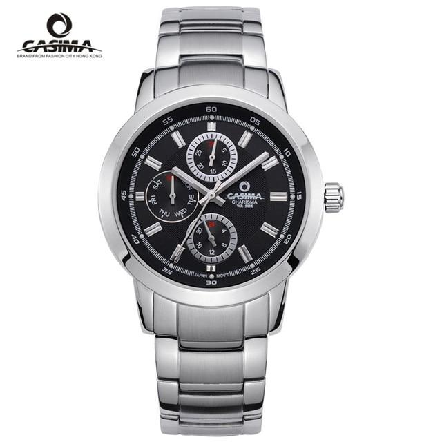 CASIMA Luxury Waterproof Week Date Watch Men Fashion Luxury Brand Military Sport Quartz Wrist Watch Clock Man Relogio Masculino