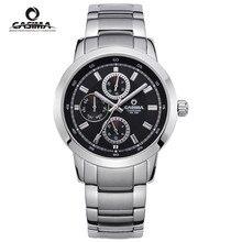 CASIMA Роскошные водонепроницаемые часы с датой недели мужские модные роскошные брендовые Военные Спортивные кварцевые наручные часы Мужские часы Relogio Masculino
