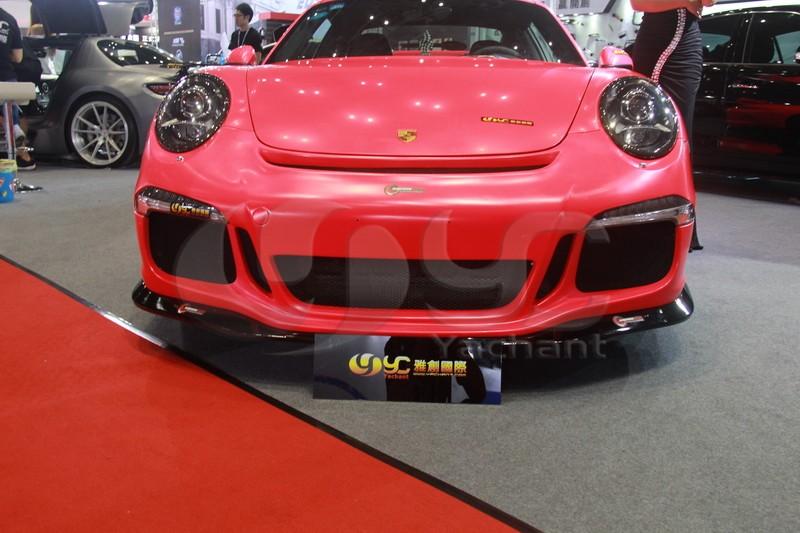 2012-2014 Porsche 911 991 Carrera & Carrera S GT3-RS Style Front Bumper FRP (33)