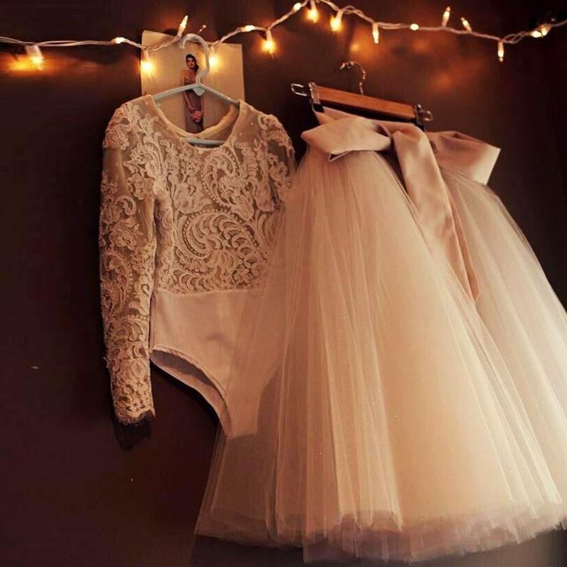 Best Quality 5 Layers Midi Tulle Skirt Custom Made Tutu Skirts Womens Petticoat Elastic Belt 2017 Summer NO TOP