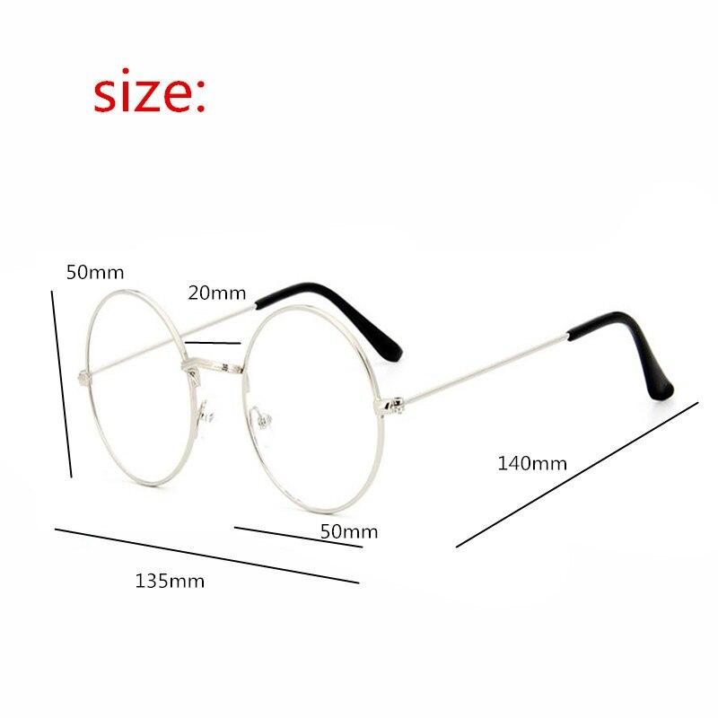 2018 Nouveau Lunettes Hommes Femmes ronde Marque Designer Lunettes Cadre  Optique Ordinateur Lunettes Cadre oculos de grau a1854c8c6afe
