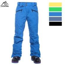 SAENSHING 10K водонепроницаемые брюки для сноуборда мужские зимние лыжные брюки Мужские дышащие зимние брюки Брендовые мужские лыжные брюки-30 градусов