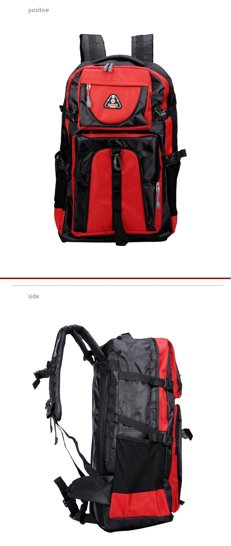 17 Senkey style 60L Large-capacity Travel Backpack Men Women Fashion Backpack To Casual Waterproof Laptop Student school Bag 5