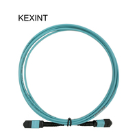 KEXINT Fiber Optical Patch Cord 24cores MTP MTP OM3 MTP Connector Fiber Cable 40G /