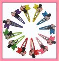 Free shipping! 36pcs/lot Minnie mouse hair accessories Bobby pin hair clip barrette can mix order