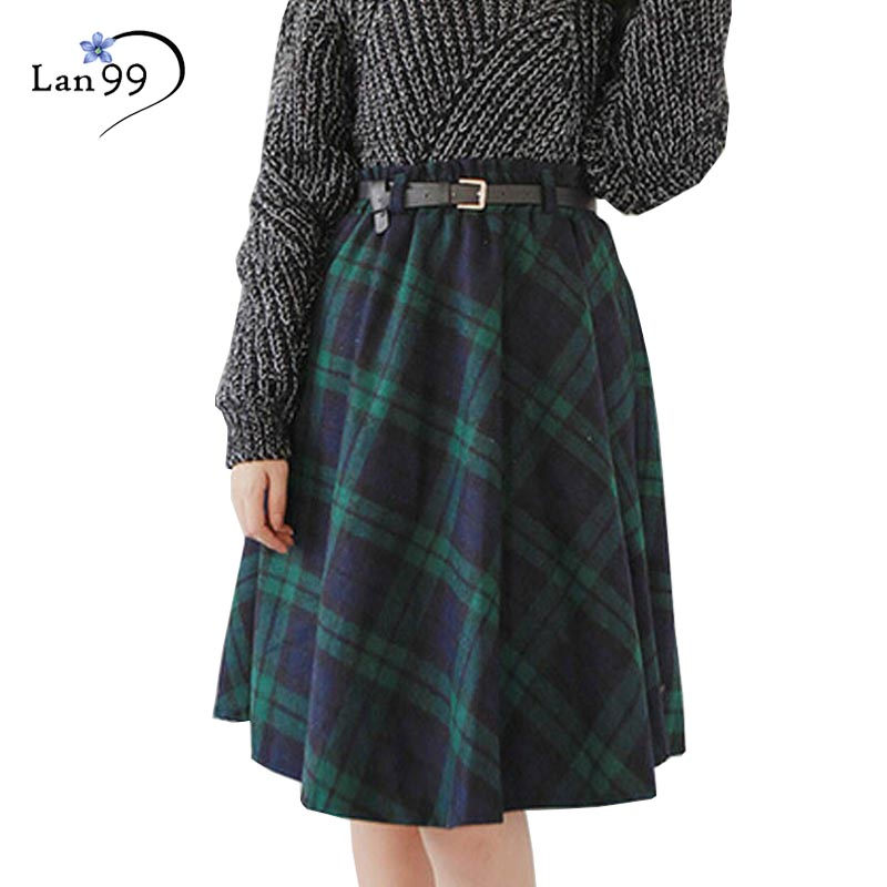 Online Get Cheap Wool Plaid Skirts for Women -Aliexpress.com ...