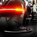 """8 """"LED Fumado Lente Luz Bar & Brake Sinais de Volta Para Harley 883 1200 48 Touring Motorycycle"""