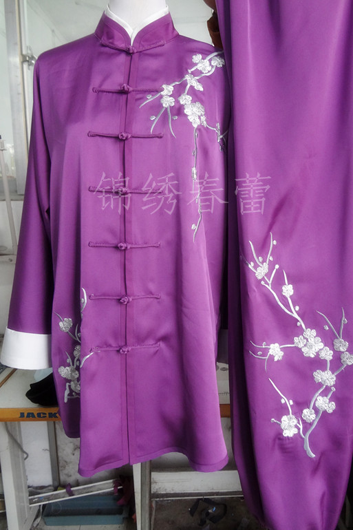 Customize Chinese Tai chi uniform taiji font b clothing b font Martial arts suit exerciseoutfit garment