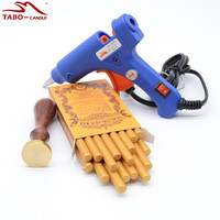 DIY Customised Sealing Stamp Wax Seal Sticks Flexible Hot Glue Gun For Personal Wedding Invitation Decoration