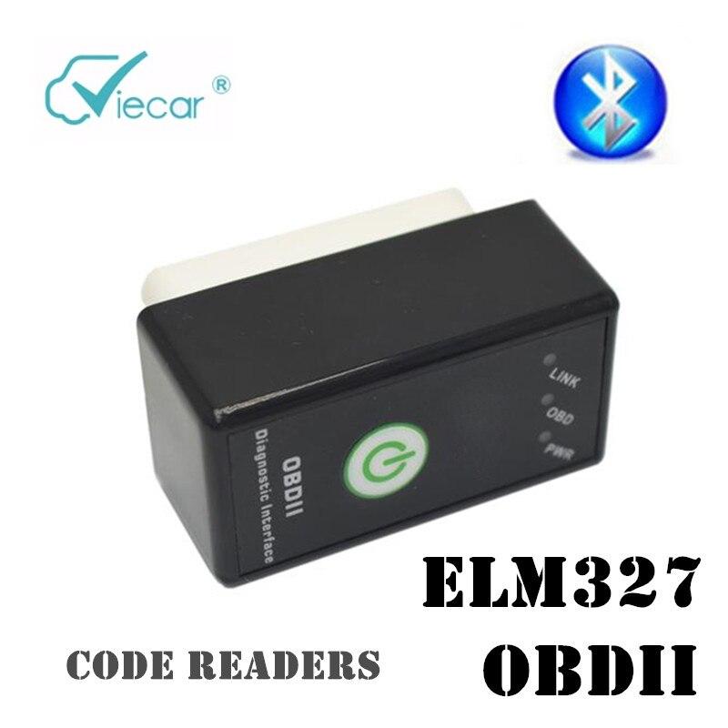 ELM327 Bluetooth herramienta de Diagnóstico del coche detector de Coche Lector de Código OBD2 Escáner de Diagnóstico Automotriz para Android Symbian de Windows