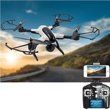 SONGYANG JUGUETES X33 Altitud Hold Wifi FPV Drone RC Quadcopter RTF 2.4 GHz 0.3MP Cámara de Bolsillo Plegable