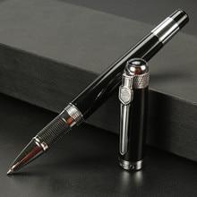 Jinhao Rollerball Pen 0.7mm black refill 189 Gold Office Students  ballpoint pen/Metal ball pen/gel pens  gudetama line friends цена в Москве и Питере