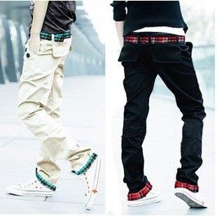 Korean men's pants, casual pants men cultivating new men casual pants slacks straight trousers