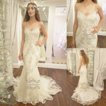 Caterinasara Wedding Dress Chapel Train V-neck
