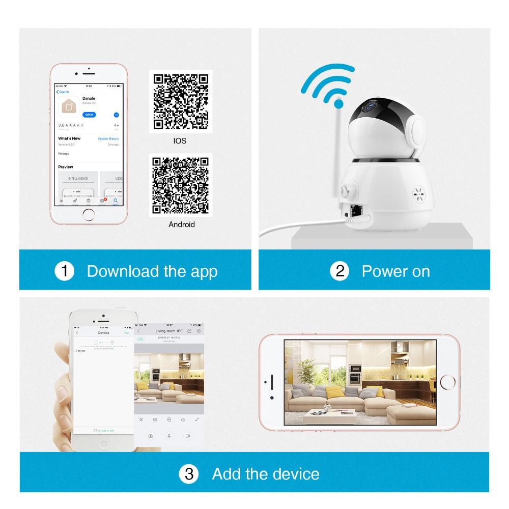 SANNCE IP Camera 1080P HD Smart IP Wireless Camera CCTV home ...