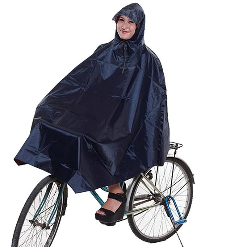 Bike Bicycle Waterproof Raincoat Cycling Poncho Rain Poncho Adult Raincoat Women Men RainCover Raincoat Rain Hood Rainwear motoo universal new motorcycle carbon fiber exhaust scooter modified exhaust muffler pipe for honda cbr600rr