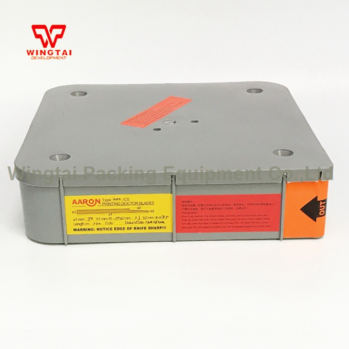 200# Industrial Printing Doctor Blade for Packing and Printing Machinery 300 aaron printing doctor blade for printing machinery w30 40mmxt0 2mmxl100m