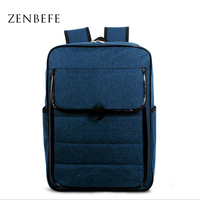 ZENBEFE Unisex Backpacks Scrub Material Men S Travel Bag Leisure Men Backpack For Laptop Durable Computer