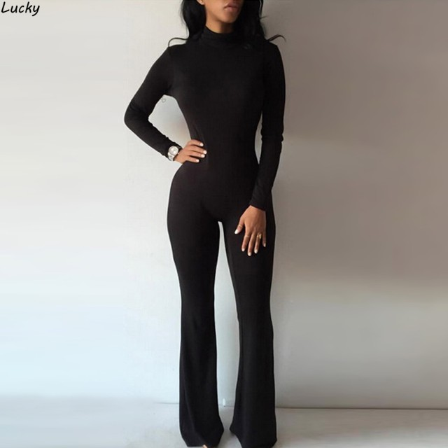 2016Casual Women One Piece Jumpsuits Long Sleeve Bodycon Back Zipper Hooded Long Pants Sexy One Piece Outfits Black/gray Rompers