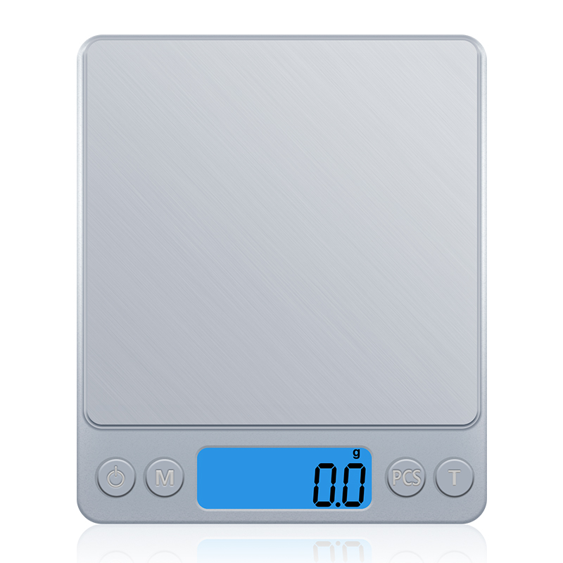 Z1s Digital Kitchen Scale Mini Pocket  Stainless Steel Precision Jewelry Electronic Balance Weight Gold Grams (3000gx0.1g)