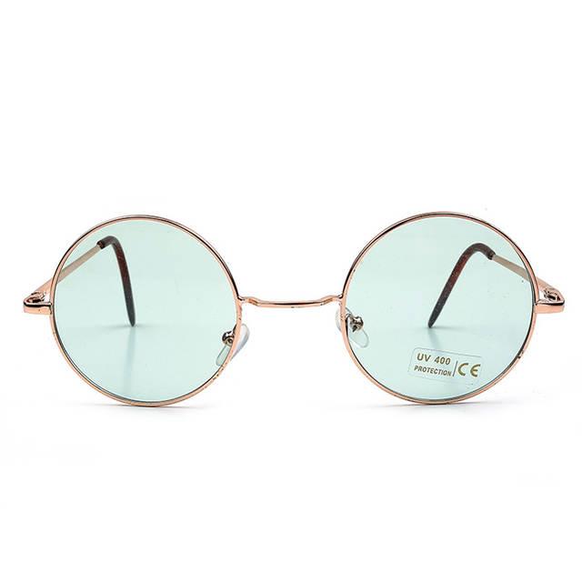 8394a715b15a5 placeholder Pro Acme 60 s Lennon Hippie Retro Rodada Óculos De Sol Das  Mulheres Designer de Marca