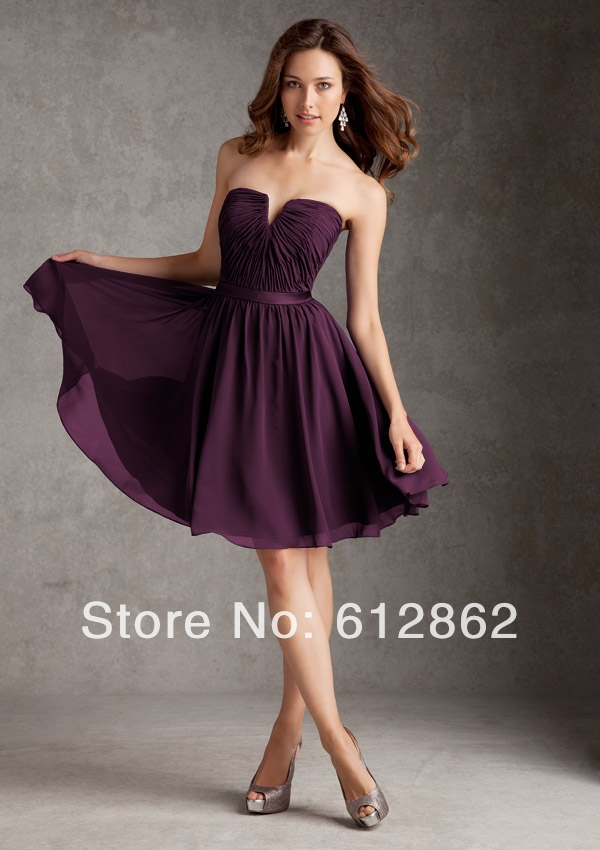 short purple bridesmaid dresses page 5 - bridesmaid dresses